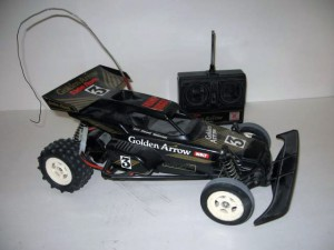 Radio Shack Golden Arrow RC Car