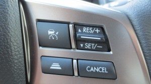 2014 subaru forester - adaptive cruise control - steering wheel controls