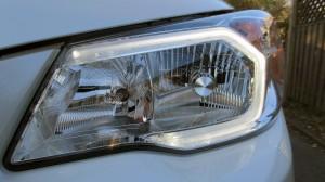 2014 subaru forester headlight led style