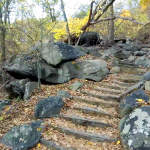bear mountain trail - 07 - stone steps