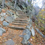 bear mountain trail - 10 - stone steps 3