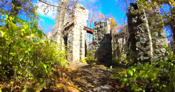 ramapo mountain state forest castle point trail - castle ruin