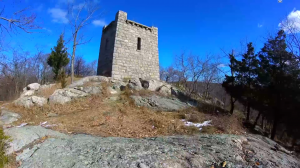 ramapo mountain state forest castle point trail - fire tower