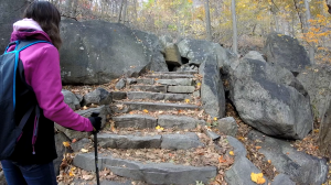 Bear Mountain Trail Stone Steps