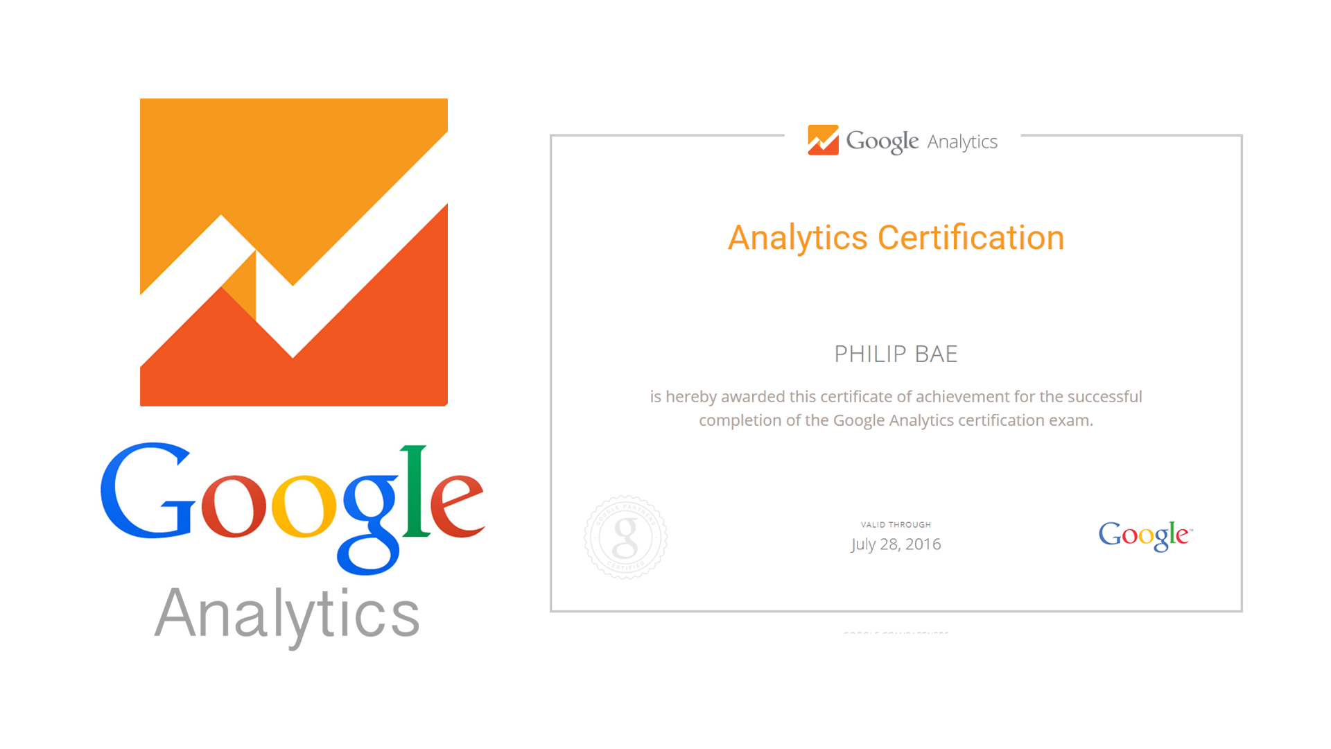 Best study guide to prepare for google adwords certification exam preparing for google analytics iq certification xflitez Image collections